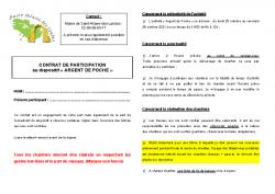contrat de participation